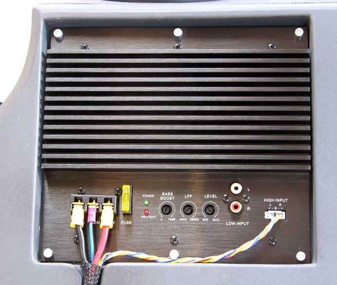 aktiv subwoofer 85 watt sinus smart fortwo 451. Black Bedroom Furniture Sets. Home Design Ideas