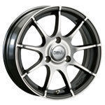 "Set Alloy Rims Typ Bali 15"" for Smart Fortwo 450"