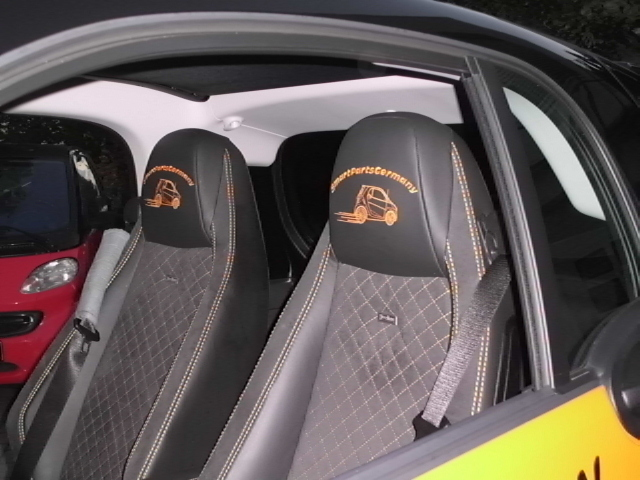 Smart Car Fortwo Seat Covers Velcromag