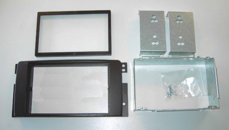 Double DIN Radio frame smart Fortwo 451 until Facelift