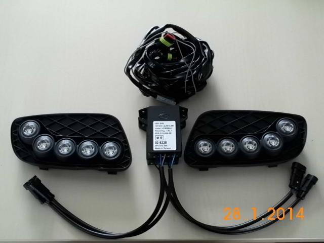 set daytime running lights for smart 451 smartpartsgermany. Black Bedroom Furniture Sets. Home Design Ideas