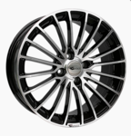 Smart 453/W453 Alloy Rims Brock 24BGP-7x17 ET38