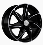 Smart 453/W453 Alloy Rims Ronal R51JBP 7x16 ET38