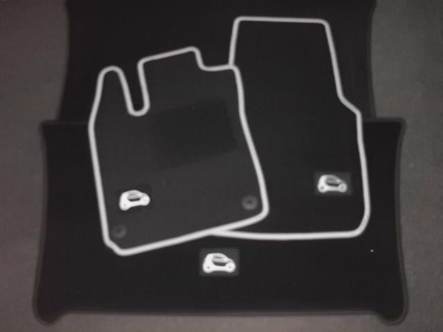 satz velours fussmatten 2 tlg smart 453 fortwo black spg. Black Bedroom Furniture Sets. Home Design Ideas