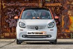 Moulding Grill below Smart Fortwo 453