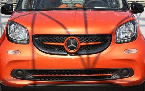 Zierleiste Grill unten Smart Fortwo+Forfour 453