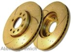 Set EBC Brabke Discs Torbo Groove Smart Fortwo 451