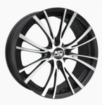Smart 453/W453 Alloy Rims MSW20- 7x17 ET423