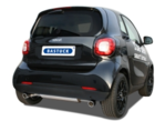 Smart 453 Fortwo/Forfour Sport exhaust system