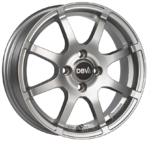 Wheel Set for Smart 453 Fortwo/Forfour Bali II Silver
