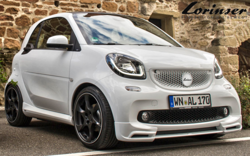 Lorinser Smart Fortwo 453 Frontspoiler